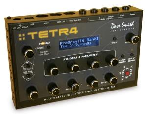 Davis Smith Tetra analog synth