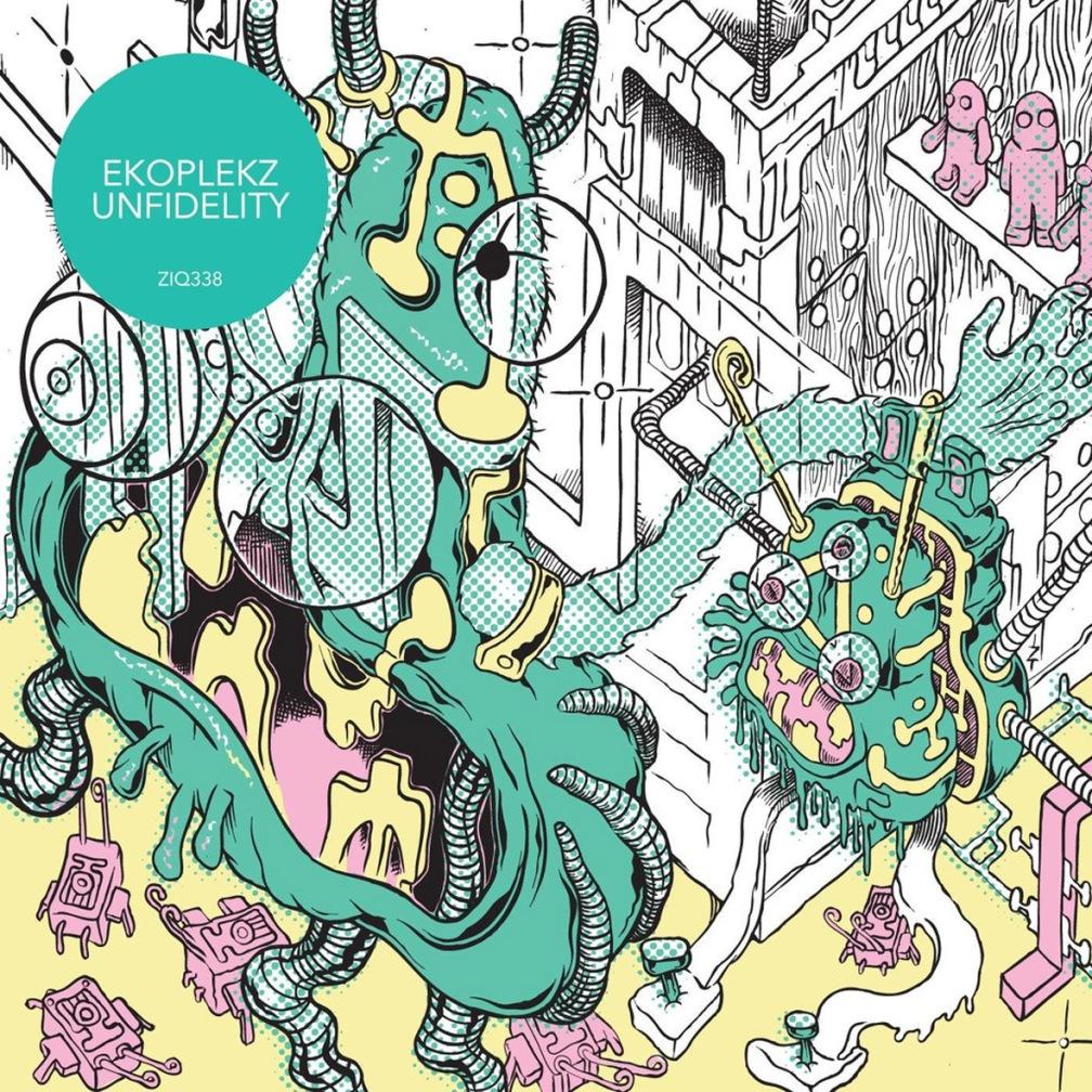 Ekoplekz - Unfidelity album cover