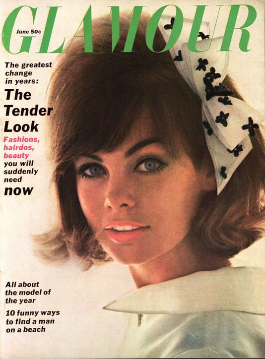 Glamour June 1963 cover