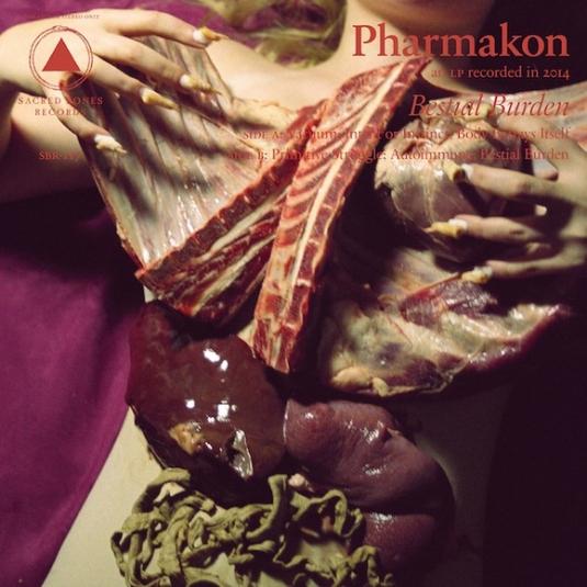 Pharmakon - Bestial Burden album cover