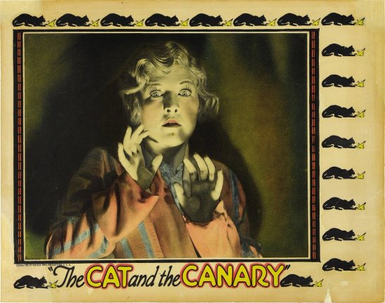 The Cat And The Canary silent movie review