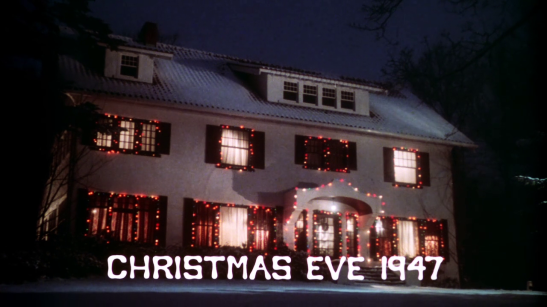 Christmas horror movie